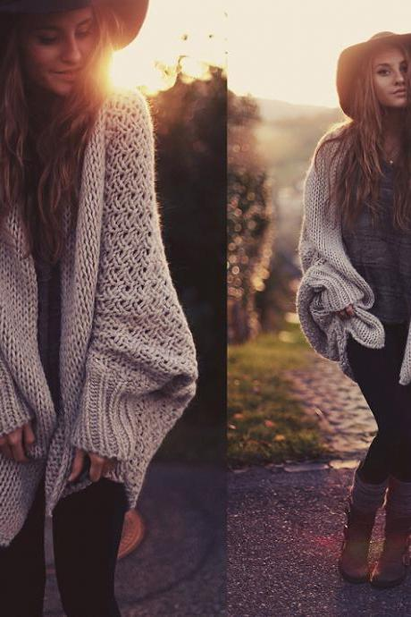 Batwing Cardigan Sweater coat