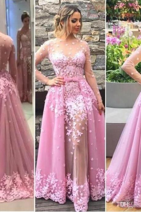 Appliques Prom Dress,Long Prom Dresses,Charming Prom Dresses,Evening Dress Prom Gowns, Formal Women Dress,prom dress